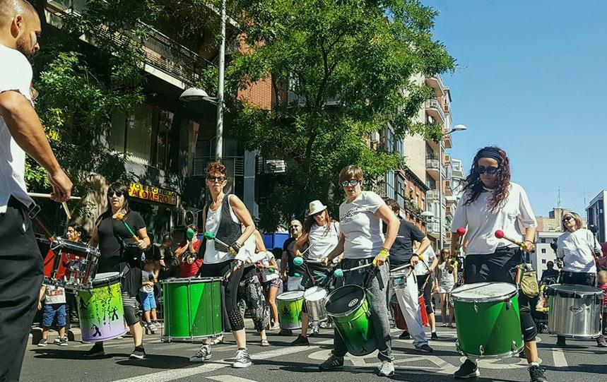 Taller samba reggae